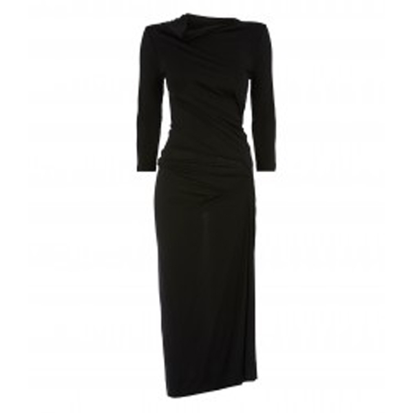Women Vivienne Westwood BLACK TAXA DRESS Outlet Online