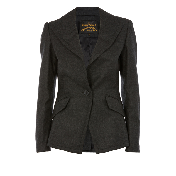 Women Vivienne Westwood GREY NEW BAG JACKET Outlet Online