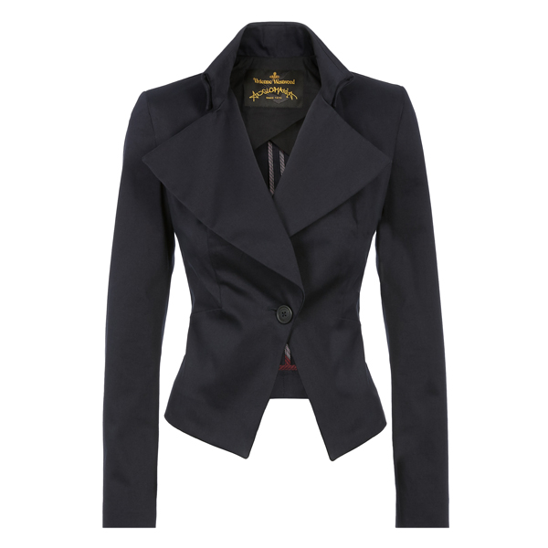 Women Vivienne Westwood NAVY FABLE JACKET Outlet Online