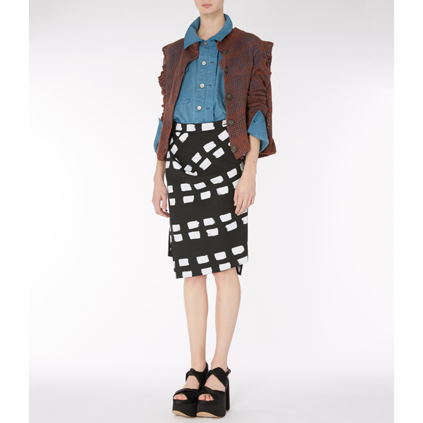 Women Vivienne Westwood CROPPED ENVELOPE CARDIGAN Outlet Online