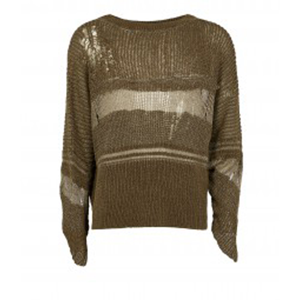 Women Vivienne Westwood IONIC SWEATER BROWN Outlet Online