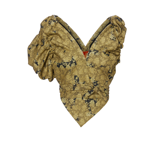 Women Vivienne Westwood GABRIELLA BLOUSE GOLD CROSS Outlet Online