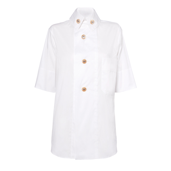 Women Vivienne Westwood MAN SCALE SHIRT WHITE Outlet Online