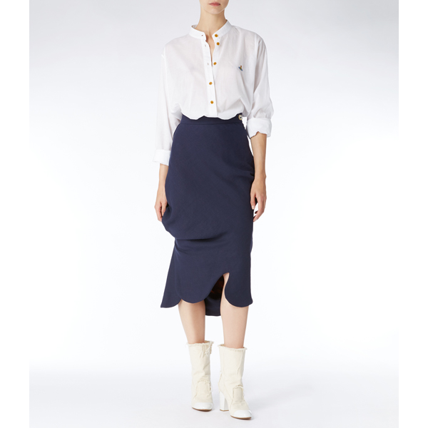 Women Vivienne Westwood CIRCLE SHIRT WHITE Outlet Online