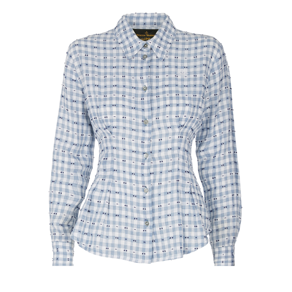 Women Vivienne Westwood CHECK RINGSTEAD SHIRT Outlet Online