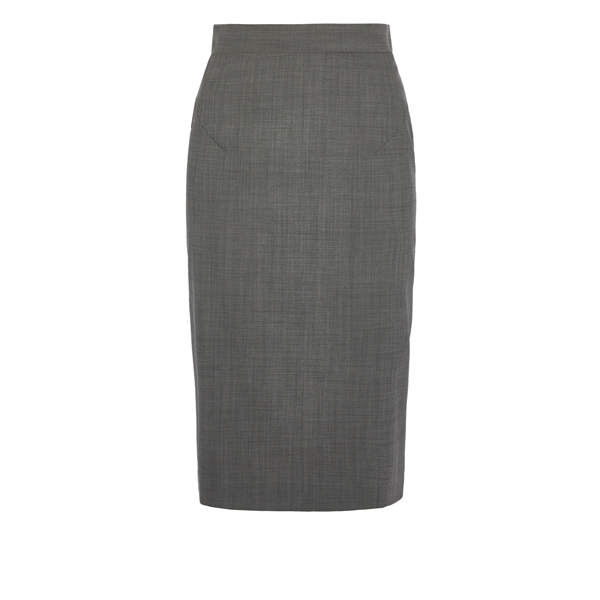 Women Vivienne Westwood PENCIL SKIRT GREY Outlet Online