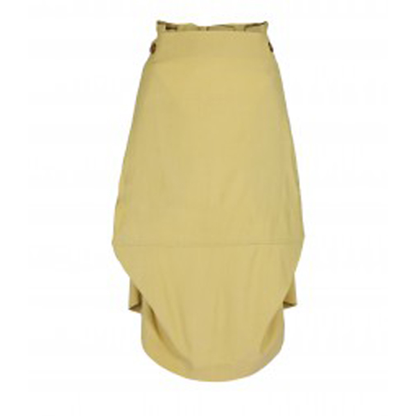 Women Vivienne Westwood BOX SKIRT YELLOW Outlet Online
