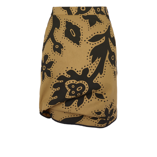 Women Vivienne Westwood CHINO ACCIDENT MINI SKIRT Outlet Online