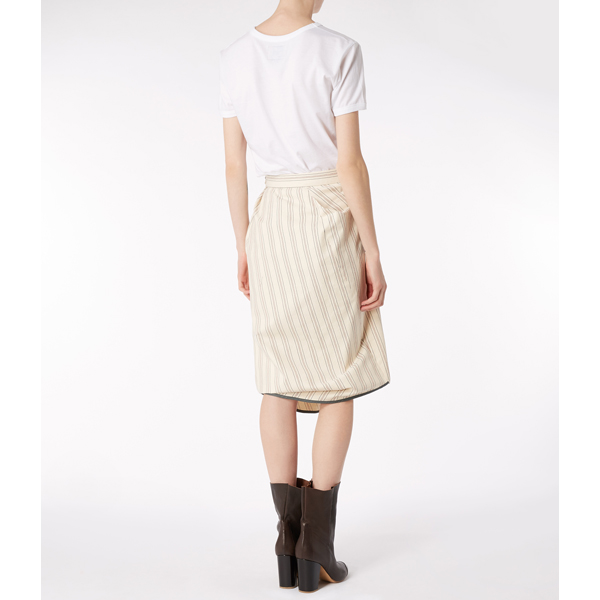 Women Vivienne Westwood NEW ACCIDENT SKIRT NATURAL Outlet Online
