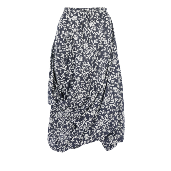 Women Vivienne Westwood BANADANA FLOWER EIGHT SKIRT Outlet Online