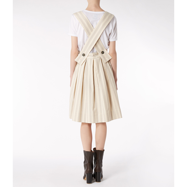 Women Vivienne Westwood PINA SKIRT NATURAL Outlet Online