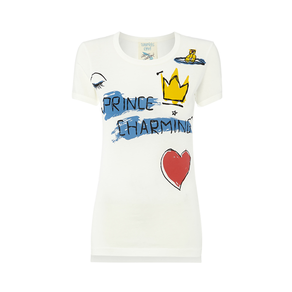 Women Vivienne Westwood PRINCE CHARMING T-SHIRT Outlet Online