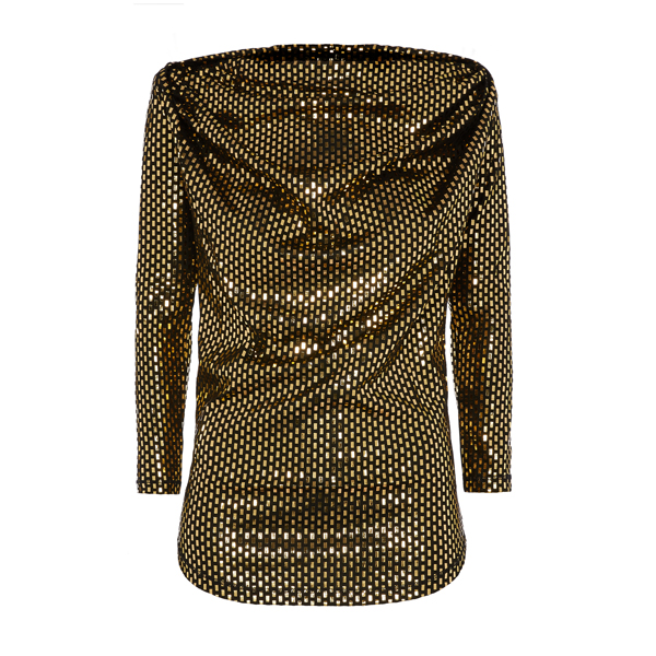 Women Vivienne Westwood LAMINATED AMBER TOP Outlet Online