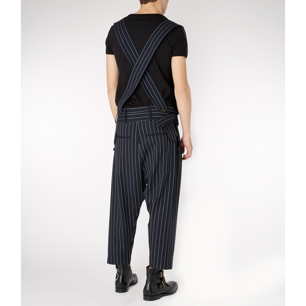 Women Vivienne Westwood UNISEX ASSAULT DUNGAREES NAVY Outlet Online