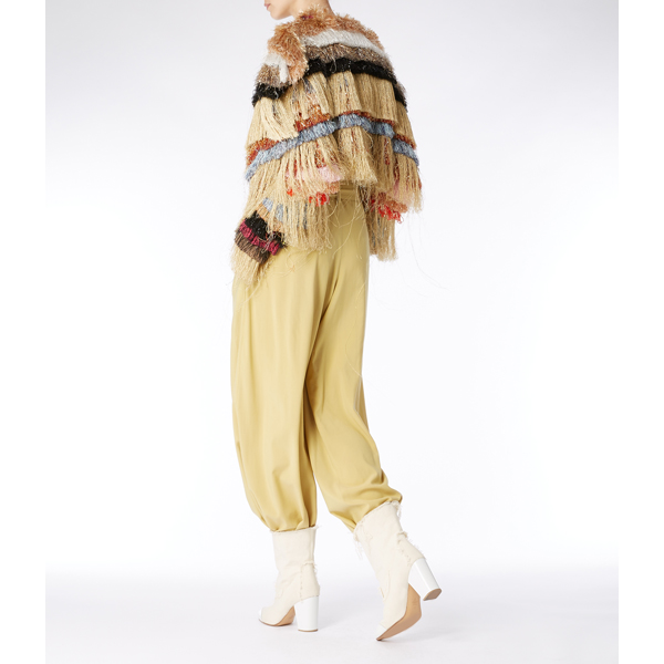 Women Vivienne Westwood OXFORD TROUSERS YELLOW Outlet Online
