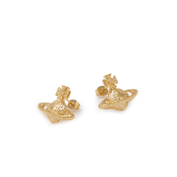 Women Vivienne Westwood DOLORES EARRINGS GOLD Outlet Online