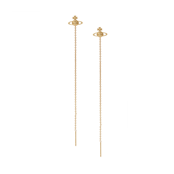 Women Vivienne Westwood GOLD GIGI EARRINGS Outlet Online