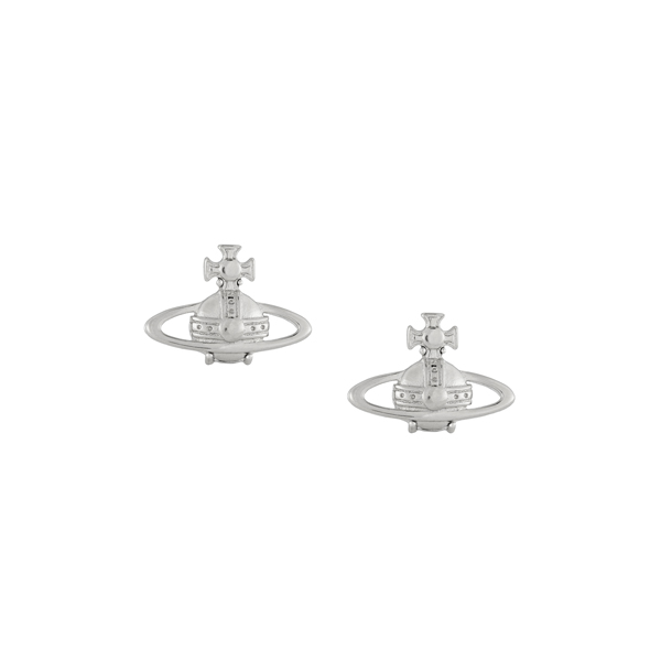 Women Vivienne Westwood SUZIE EARRINGS SILVER Outlet Online