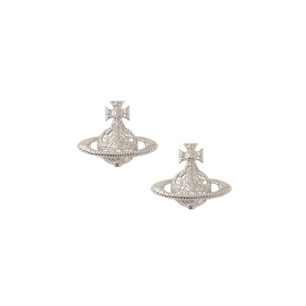Women Vivienne Westwood DOLORES EARRINGS SILVER Outlet Online