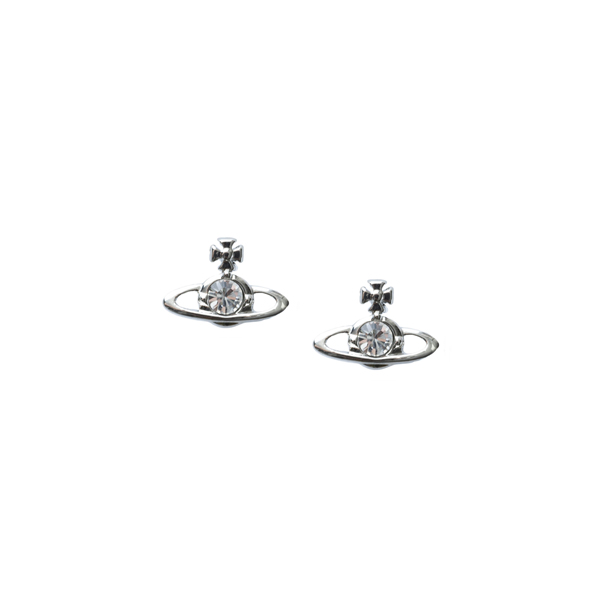 Women Vivienne Westwood NANO SOLITAIRE EARRINGS CRYSTAL Outlet Online