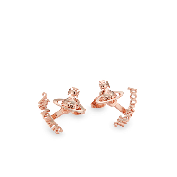 Women Vivienne Westwood TONI EARRINGS PINK Outlet Online