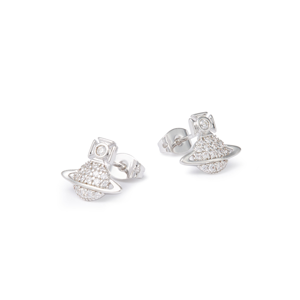 Women Vivienne Westwood TAMIA EARRINGS SILVER Outlet Online
