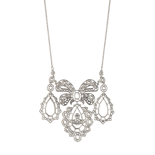 Women Vivienne Westwood PALLADIUM GAINSBOROUGH NECKLACE Outlet Online