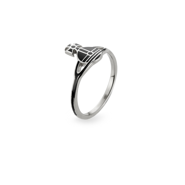 Women Vivienne Westwood KATE RING SILVER Outlet Online