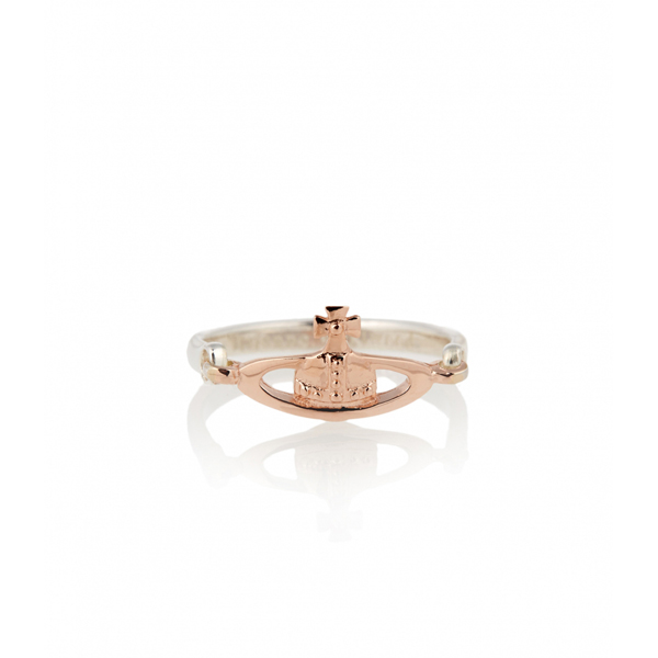 Women Vivienne Westwood VENDOME RING PINK GOLD Outlet Online