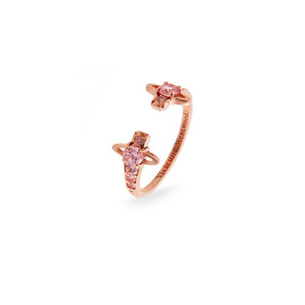 Women Vivienne Westwood REINA RING PINK Outlet Online