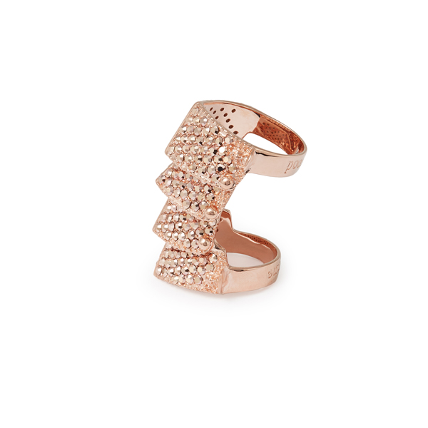 Women Vivienne Westwood REGENT RING PINK GOLD Outlet Online
