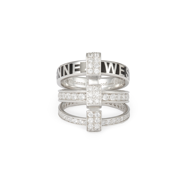 Women Vivienne Westwood STERLING SILVER JULES RING Outlet Online