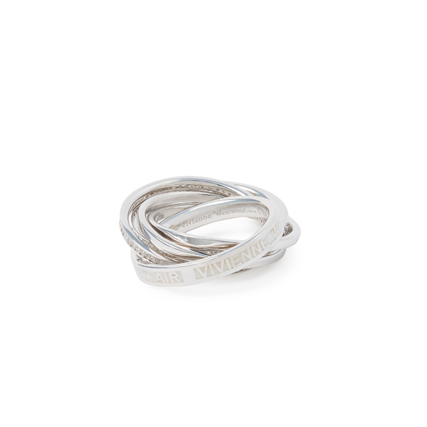Women Vivienne Westwood STERLING SILVER DUSTIN RING Outlet Online