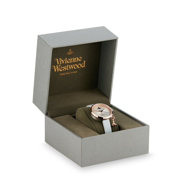 Women Vivienne Westwood BOW WATCH ROSE/BLUE Outlet Online