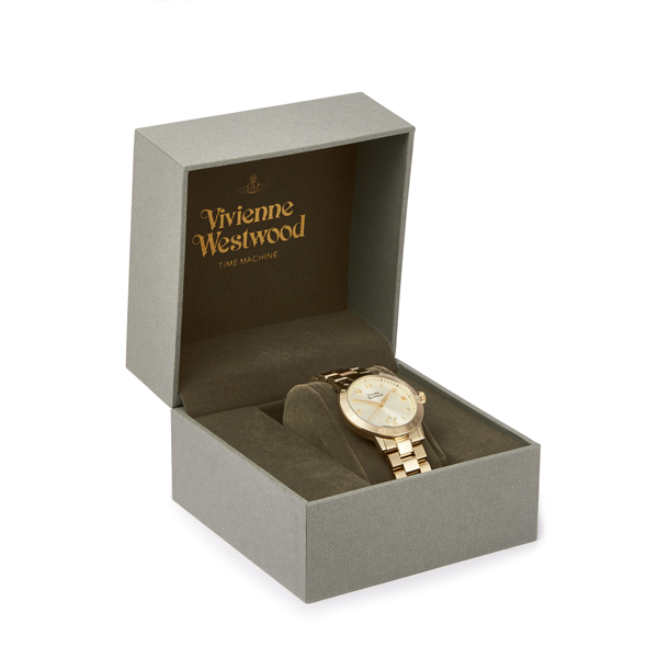 Women Vivienne Westwood GOLD BLOOMSBURY WATCH VV152GDGD Outlet Online