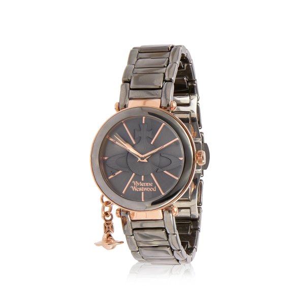 Women Vivienne Westwood ROSE KENSINGTON WATCH VV067SLTI Outlet Online
