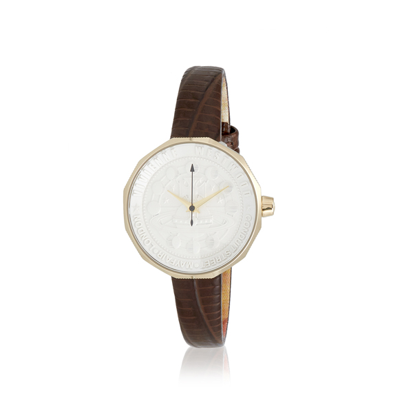 Women Vivienne Westwood EDGEWARE WATCH BROWN Outlet Online