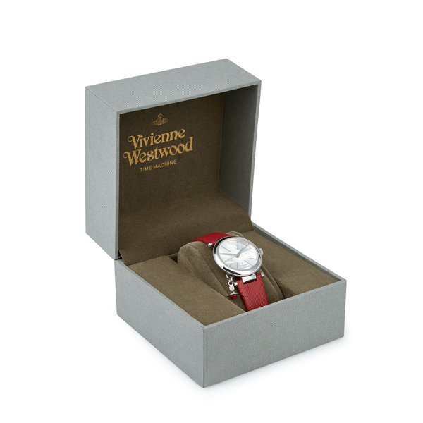Women Vivienne Westwood RED ORB POP WATCH Outlet Online