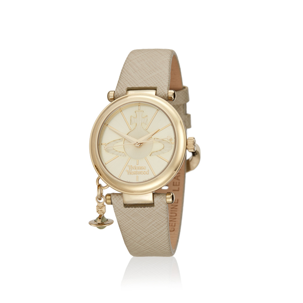 Women Vivienne Westwood CREAM ORB POP WATCH Outlet Online
