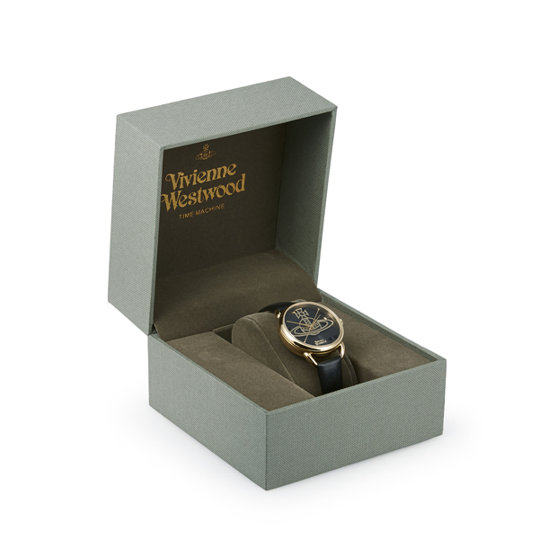 Women Vivienne Westwood BLACK LEADENHALL WATCH Outlet Online