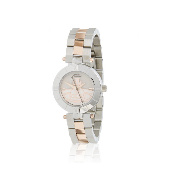 Women Vivienne Westwood WESTBOURNE ORB WATCH SILVER Outlet Online