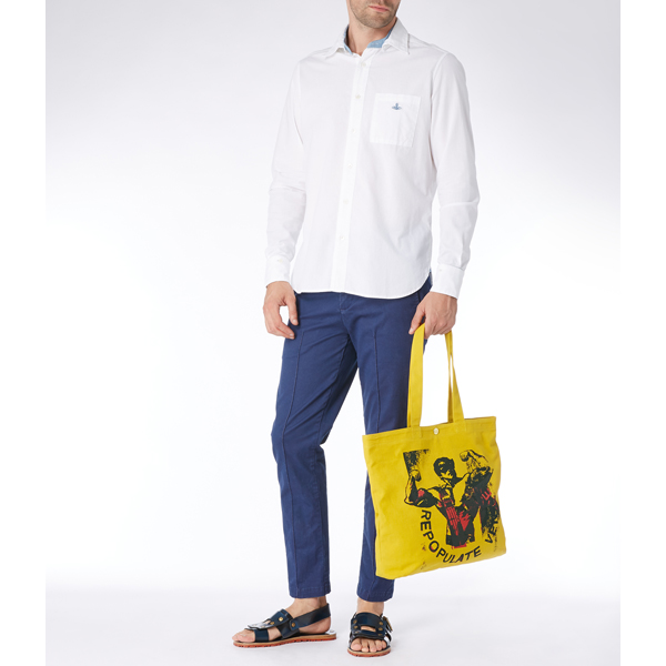 Men Vivienne Westwood REPOPULATE VENICE POLITICAL SHOPPER Outlet Online