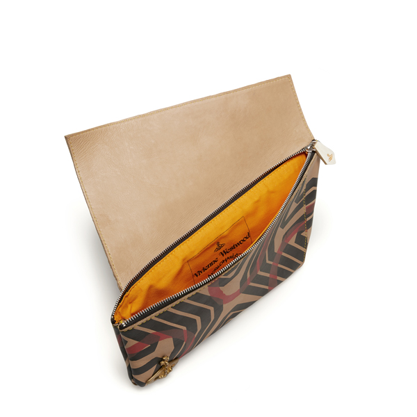 Men Vivienne Westwood GEOMETRIC CIRCLE CLUTCH Outlet Online