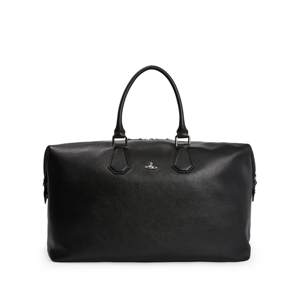 Men Vivienne Westwood MILANO WEEKENDER BAG 131175 BLACK Outlet Online