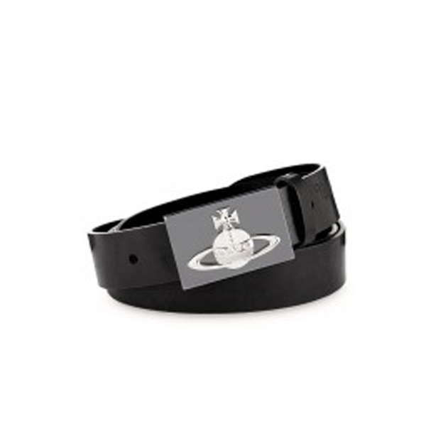 Men Vivienne Westwood ORB BELT 5868 BLACK Outlet Online