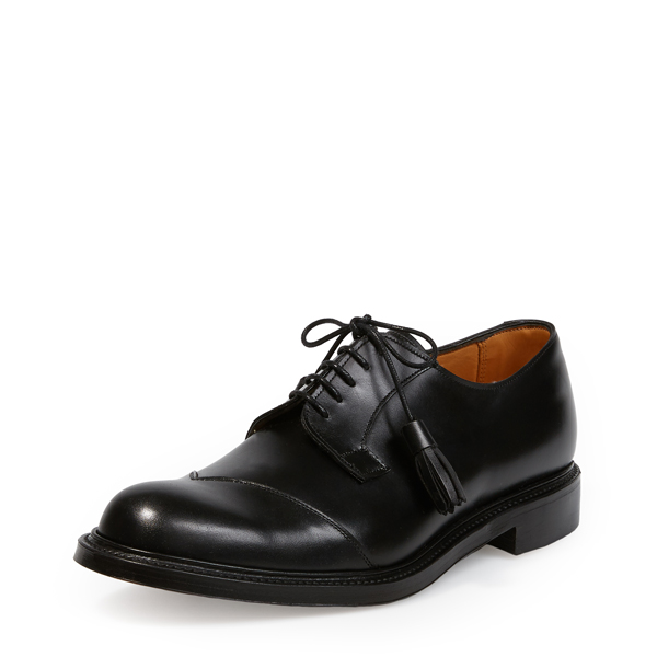 Men Vivienne Westwood JOSEPH CHEANEY & SON BATTERSEA TOE CAP SHOES BLACK Outlet Online