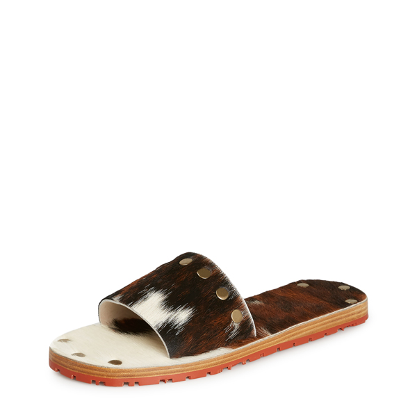 Men Vivienne Westwood BACCHUS SLIDES BROWN/WHITE Outlet Online
