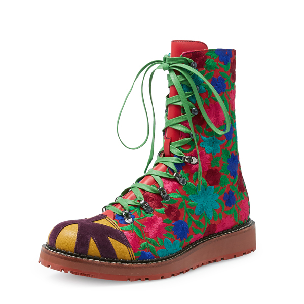 Men Vivienne Westwood FREEDOM BOOTS RED Outlet Online
