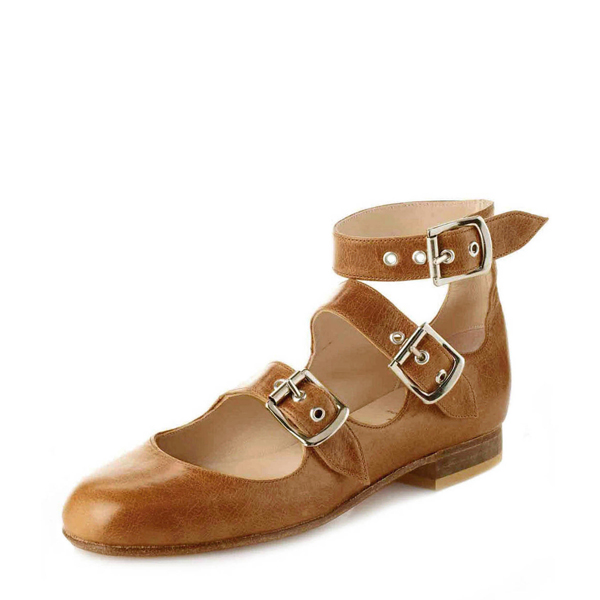 Men Vivienne Westwood ROMAN THREE STRAPS TAN Outlet Online