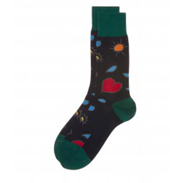 Men Vivienne Westwood NAVY HEART AND EYE SOCKS Outlet Online